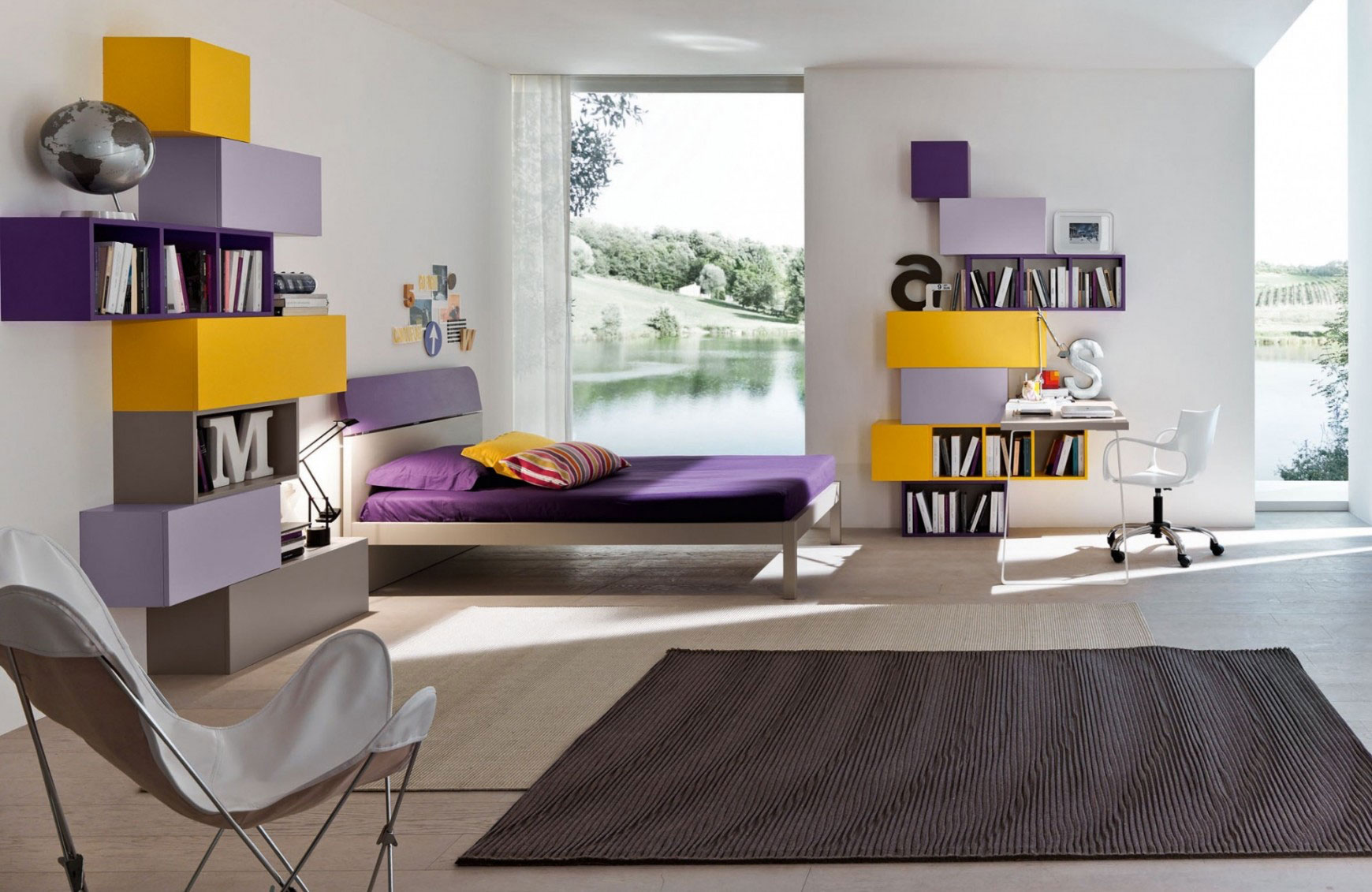 Camere per ragazzi ab mobili for Camere per ragazzi