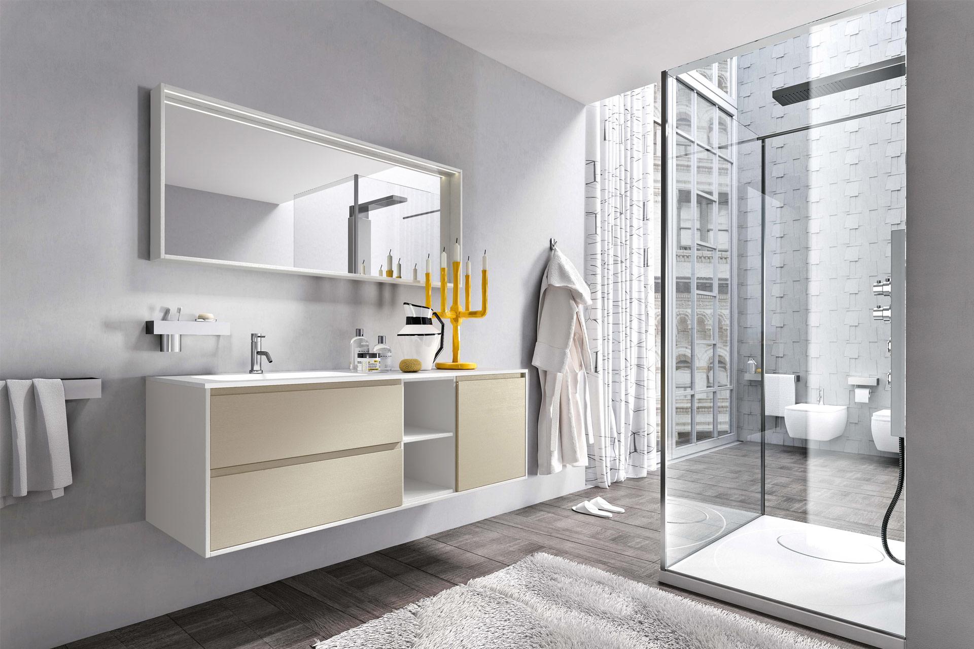 CLOE Mobili bagno modulari e componibili nella nuova collezione bagno ...