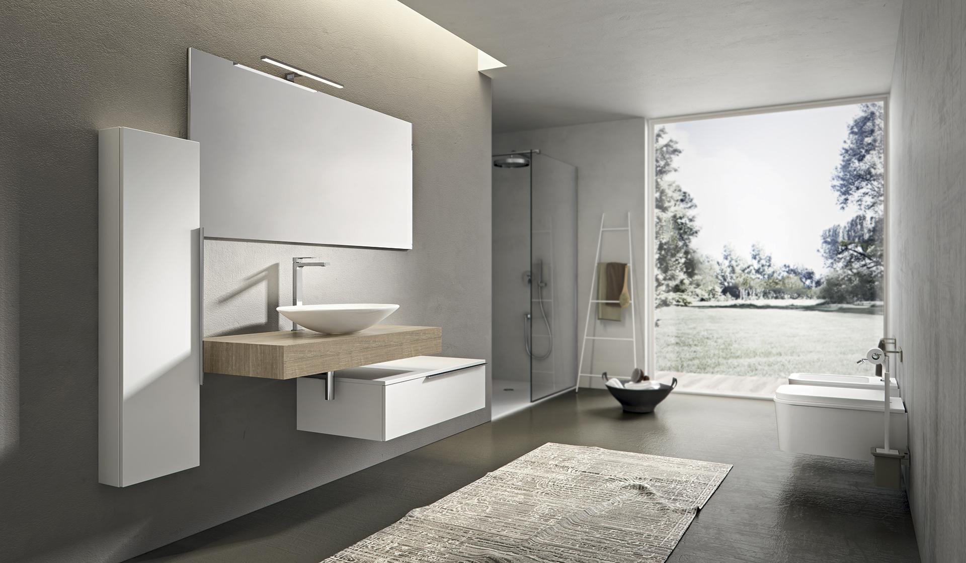 Mobili bagno ab mobili - Piastrelle per bagni moderni ...