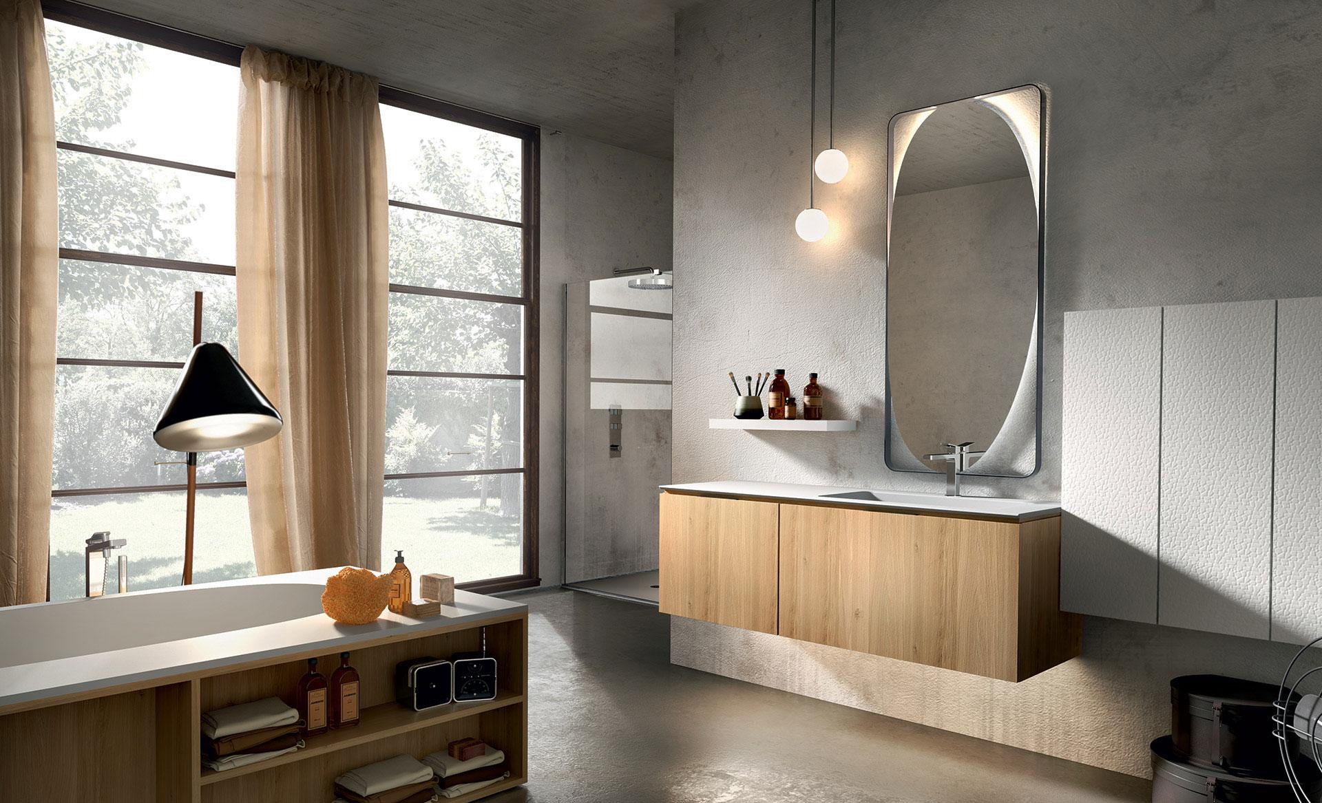 Mobili bagno ab mobili for Arredo bagno in legno