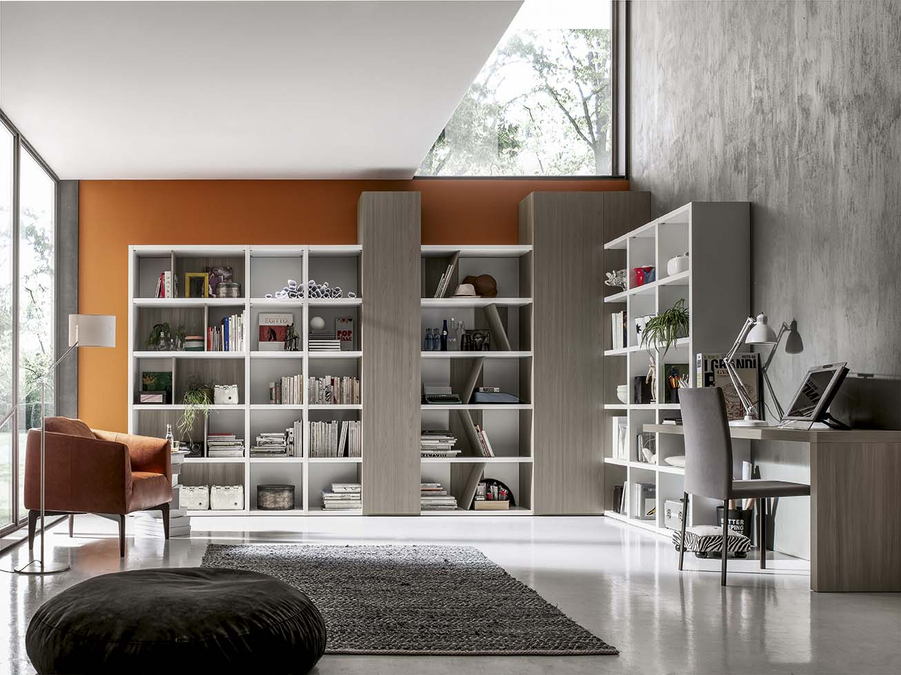 Soggiorni Stile Moderno : Stile moderno ab mobili
